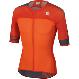 Sportful Bodyfit Pro 2.0 Light Jersey Men Orange SDR/Fire Red